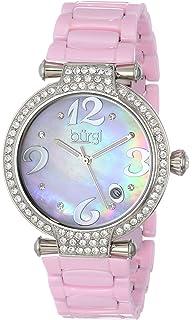 Quarz Burgi Armband Bur087rd Uhr Mit Damen Leder Analog Nwk80OXPn