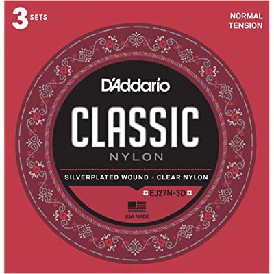 D'Addario T4603 Juego de Cuerdas para Guitarra Clásica de Nylon
