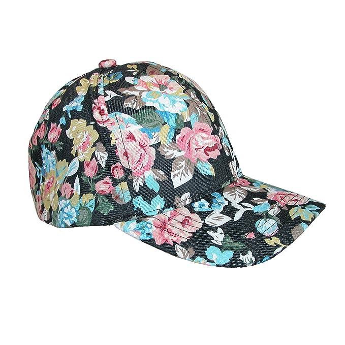 5653fa5cdea David   Young Floral Black Cap