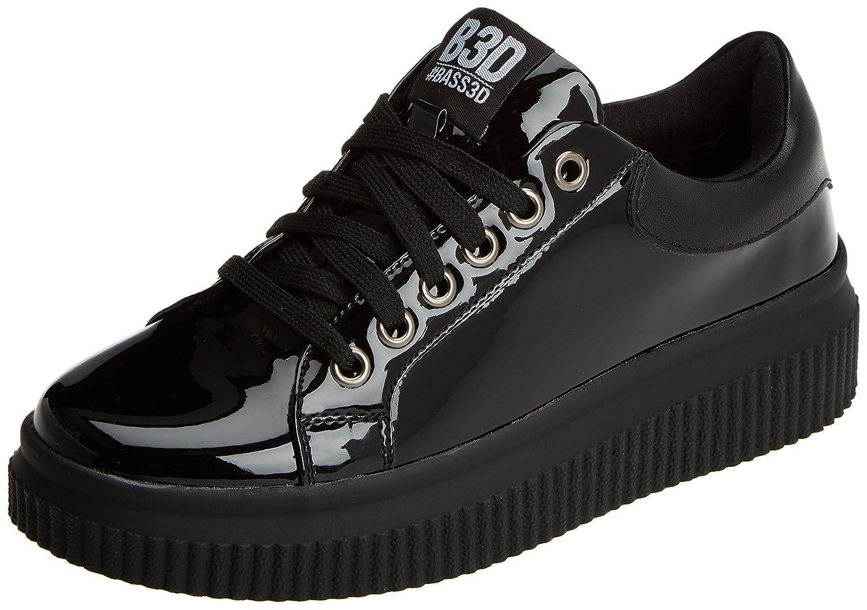 bass3d 041377, Zapatillas para Mujer 37 EU|Negro (Black)