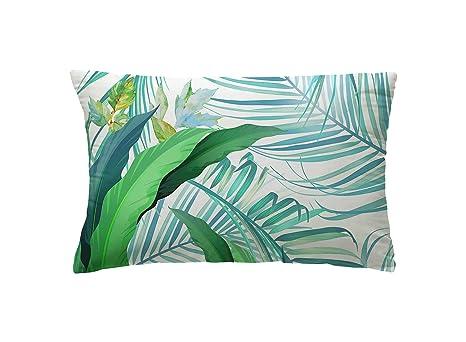 Guapore Tropical Cojín Decoración, Loneta, 30x50x15 cm