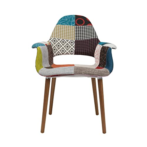 Tribeca Organic Arm Chair Patchwork