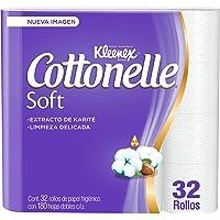 Kleenex Cottonelle Soft, Papel Higiénico, 32 Rollos, 1 count