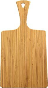 "Totally Bamboo GreenLite 15"" Dishwasher Safe Bamboo Serving Paddle and Cutting Board"