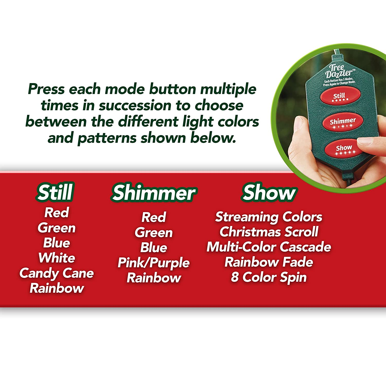 Amazoncom Star Shower Tree Dazzler Led Christmas Lights By Bulbhead,
