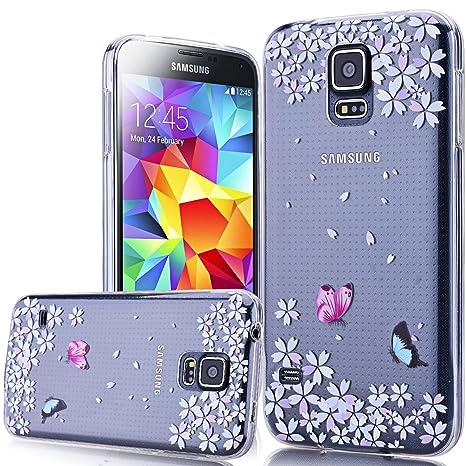 We Love Case para Samsung Galaxy S5/S5 Neo Funda TPU ...