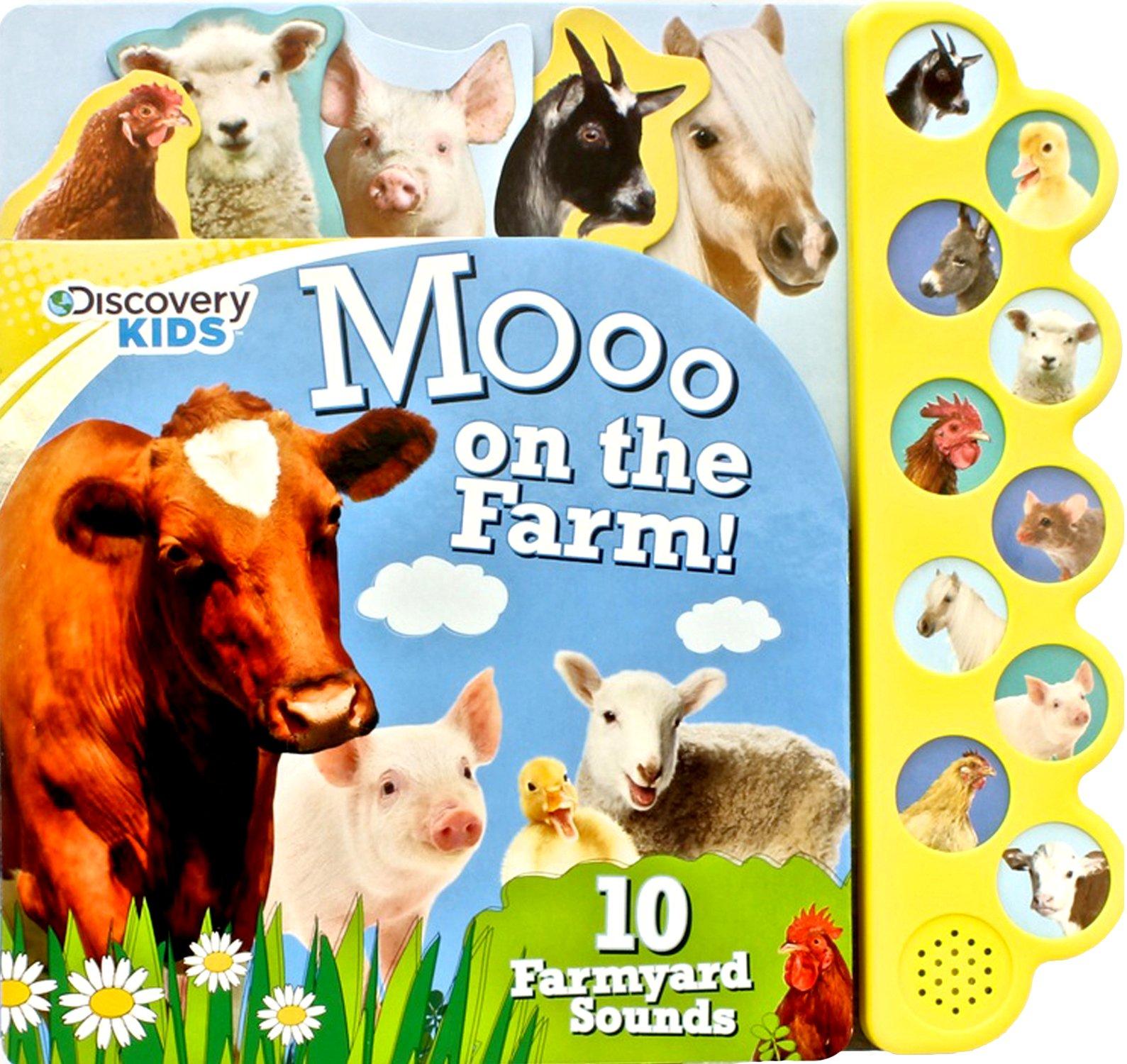 Discovery Kids Moo Farm Button