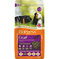 Excel Burgess Guinea Pig Nuggets Blackcurrant and Oregano 2kg (pack of 2)