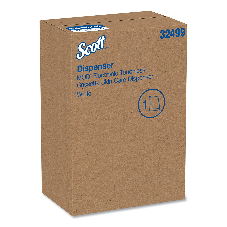 Scott 32499 Electronic Skin Care Dispenser, 1200mL, 7.29 x 11.69 x 4,  White: Amazon.com: Industrial & Scientific