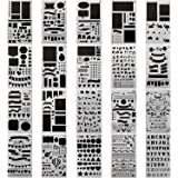 20 PCS Journal Stencil Plastic Planner Set for...