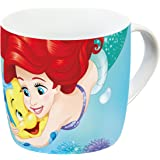 Disney 12767 Percellain Mug, Little Mermaid, Multi-Coloured, 11.5 x 8 x 8 cm