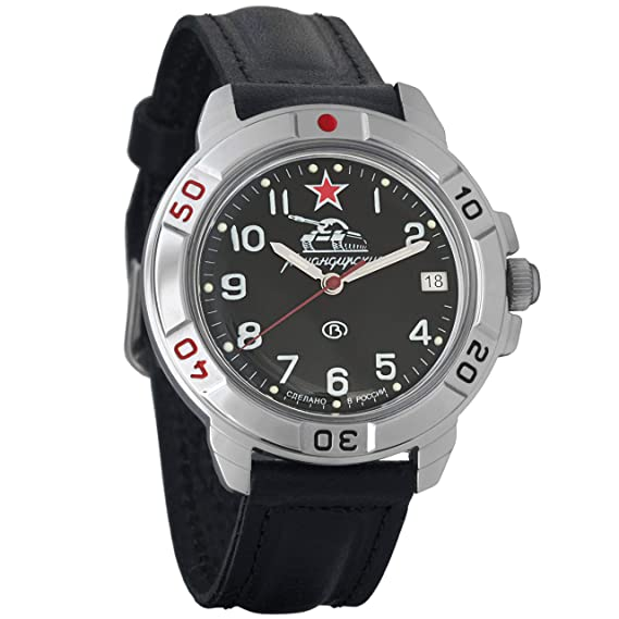Vostok Komandirskie Russian Mens Military Mechanical Wrist watch #431306: Amazon.es: Relojes