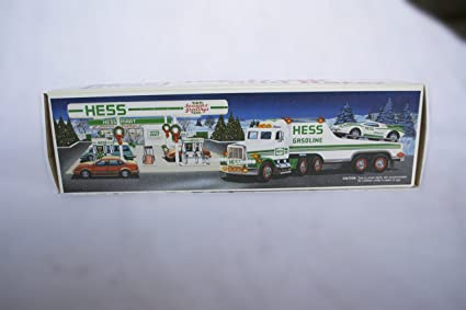 Amazon 1991 HESS TOY TRUCK WITH RACER Toys Games