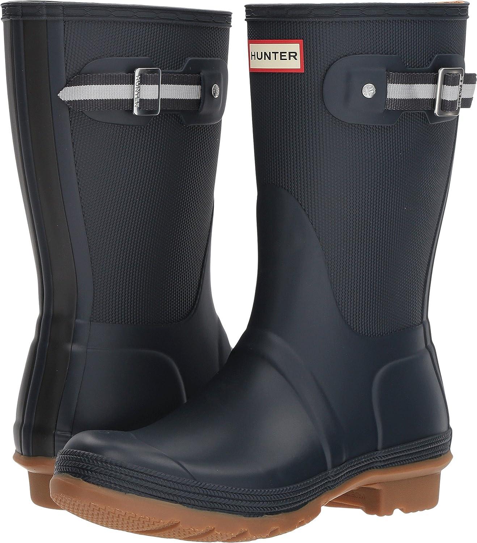 Hunter Boot Womens Original Sissinghurst Short Boot Hunter B079G3KMM5 10 B(M) US|Navy/Black 90d78a