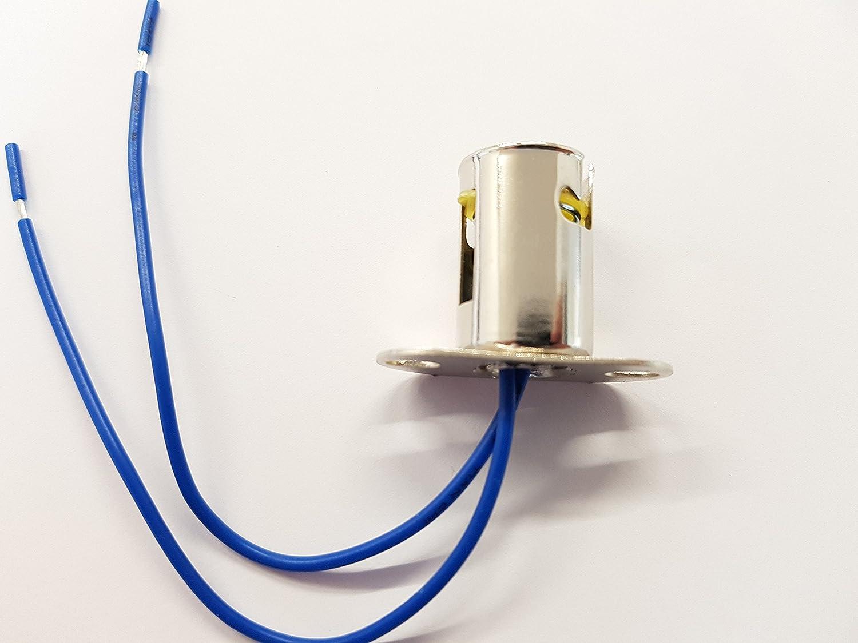 4 Stück Auto BA15D Lampenfassung Stecker Glühlampen-Sockel Lampenstecker 12V DHL