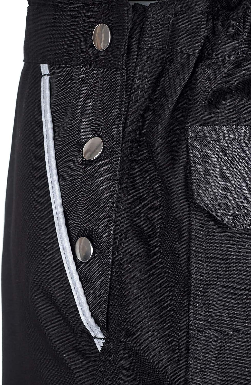 TMG Arbeitslatzhose Herren Schutz-Latzhose mit Kniepolster-Taschen