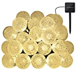 Amazon Price History for:Outdoor Solar String Light garland 30LED Fairy String Lights Bubble Crystal Ball Lights Decorative Lighting for Indoor, Garden, Home, Patio, Lawn, Party ,Holiday ,Ooutdoor Decor(20FT ) (warm white)