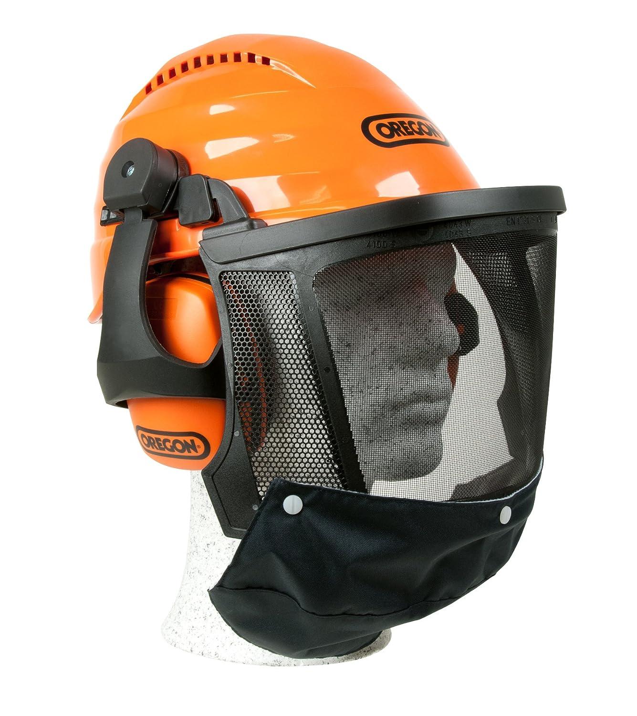 オレゴン チェンソー作業用 高性能ヘルメット B00FGEURJ4