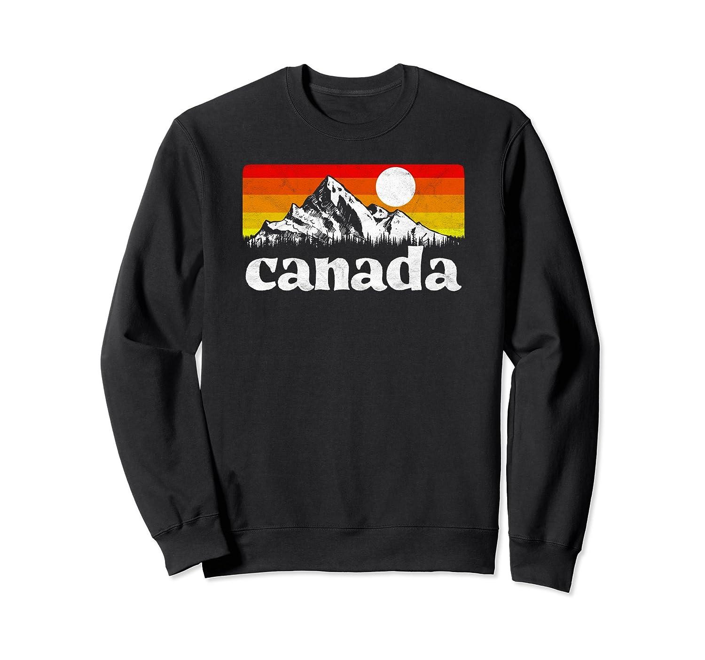 Vintage Canada Retro Distressed Sweatshirt-Teehay