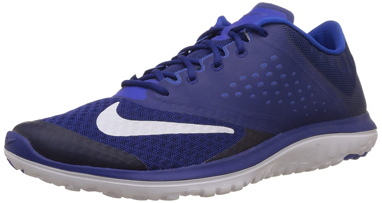 NIKE Men's Fs Lite 2 Running Shoe B00NO12UI2 10.5 D(M) US|Deep Royal Blue/White/Lyon Blue