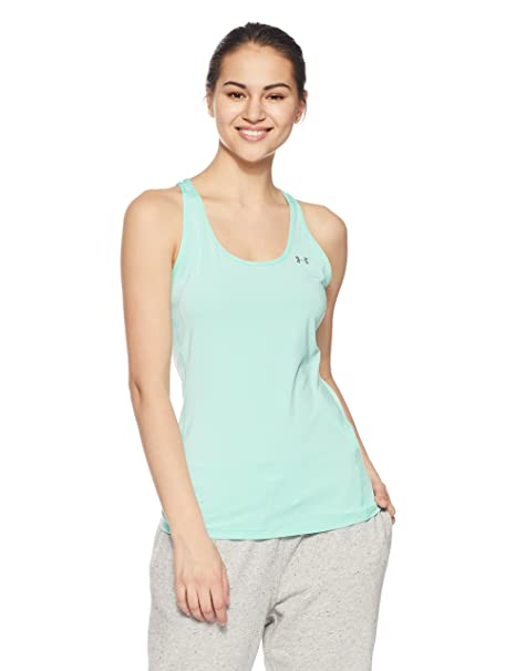 58ac69969 Under Armour Women's Hg Racer Tank Top: Amazon.co.uk: Sports & Outdoors