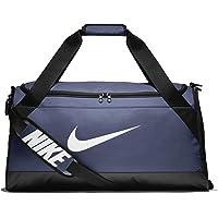 Nike Brasilia Medium Duffel Bag (Midnight Navy/Black/White)