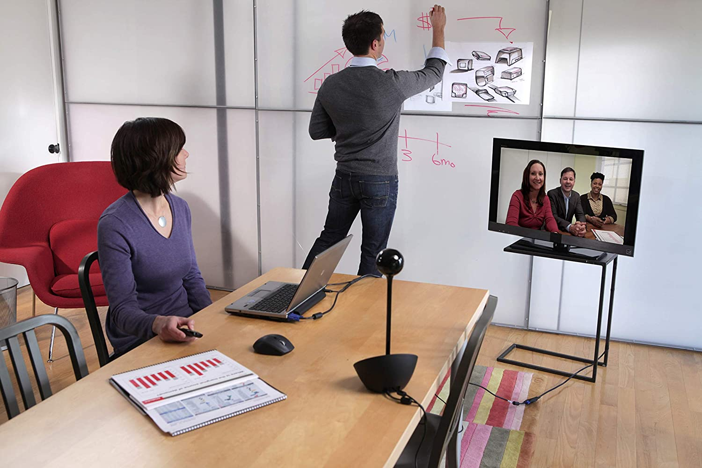 webcams 1080p, H.264, Black, Stand, 0-180/°, Carl Zeiss Logitech BCC950