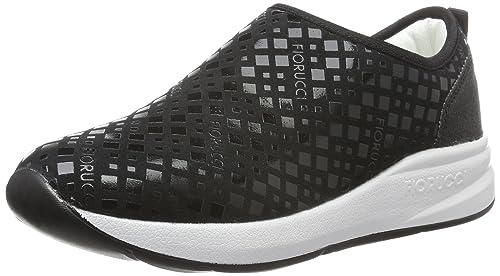 FEAA003, Sneaker Donna, Nero (Nero Nero), 39 EU Fiorucci