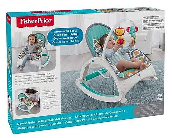 Fisher Price New-Born-to-Toddler Rocker Glacier Wave