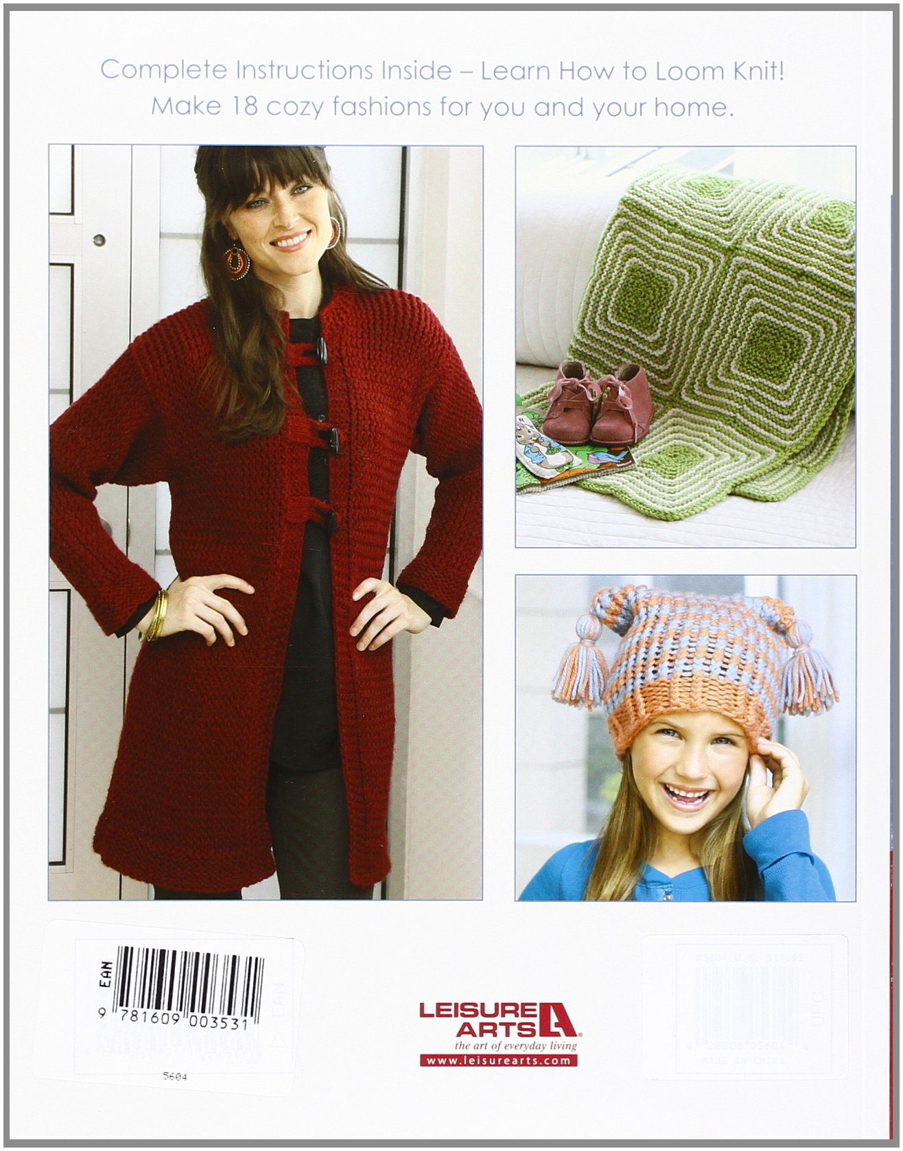 Big Book of Loom Knitting: Learn to Loom Knit: Kathy Norris ...