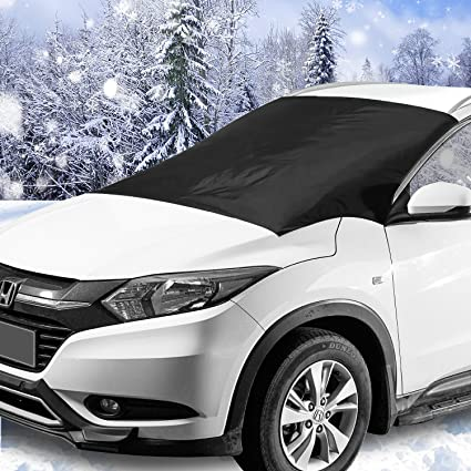 d83f7548 Amazon.com: Windshield Snow & Ice Cover, Waterproof, sun protection For All  Cars, Trucks, SUVs, MPVs, with Magnetic (47