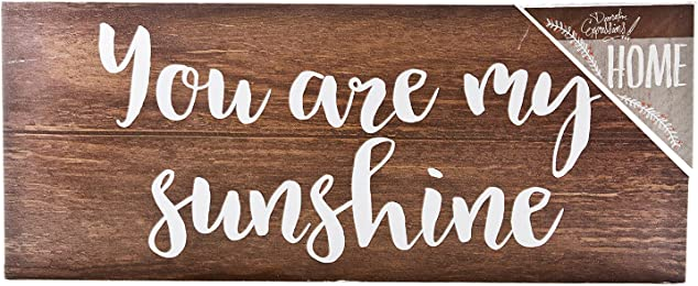 """ReLIVE Decorative Expressions (EVERYDAY HOME, """"You Are My Sunshine"""" Box Sign)"""