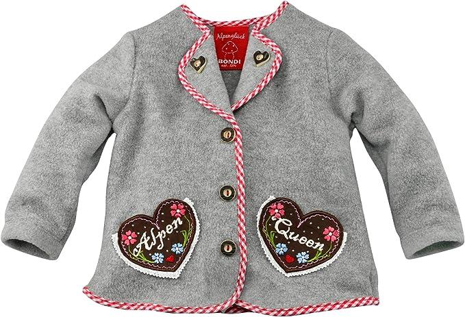 BONDI Fleecejacke /´Alpenqueen/´ Tracht Baby M/ädchen Artikel-Nr.86193