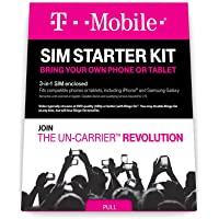 T-Mobile Complete SIM Starter Kit (White) + $25 Gift Card