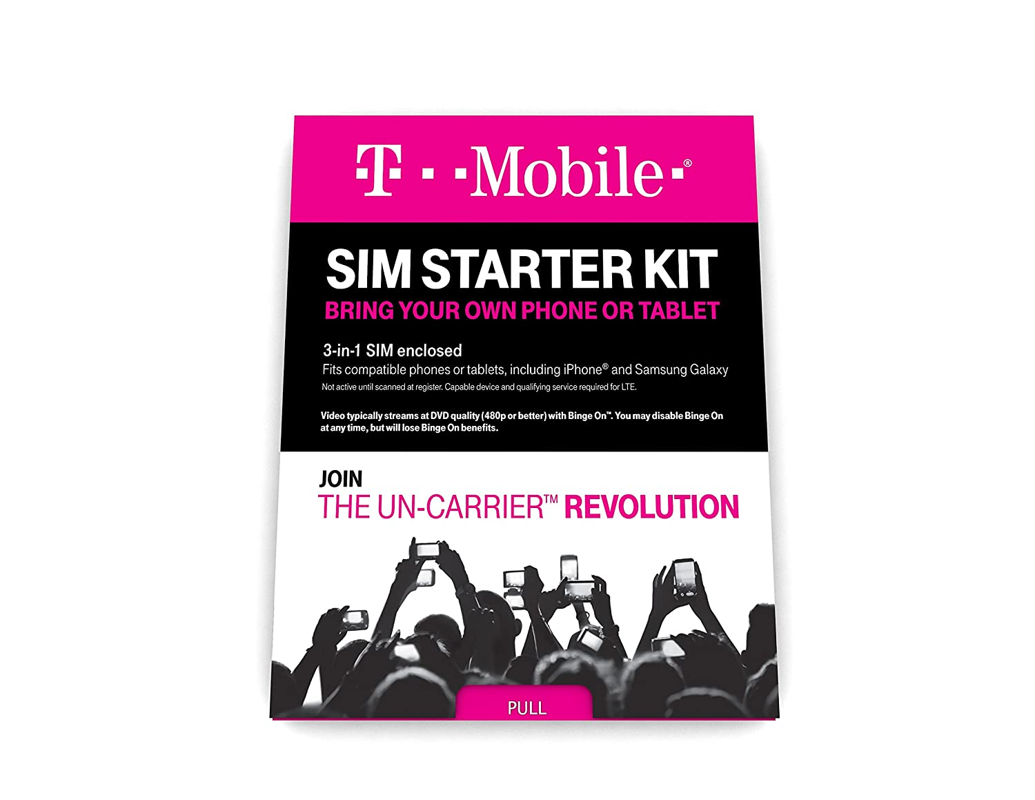 Amazon t mobile prepaid complete sim starter kit no amazon t mobile prepaid complete sim starter kit no contract network connection universal standard micro nano sim cell phones accessories magicingreecefo Image collections