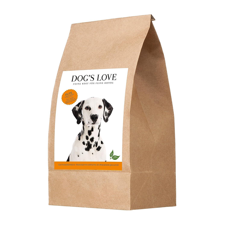 DOG'S LOVE Pute mit Süßkartoffel & Preiselbeere, 1er Pack (1 x 12 kg)