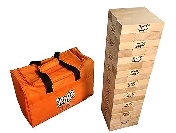 Amazon.com: Jenga GIANT JS7 Hardwood Game (Stacks to 5+ feet. Ages 12+):  Toys & Games