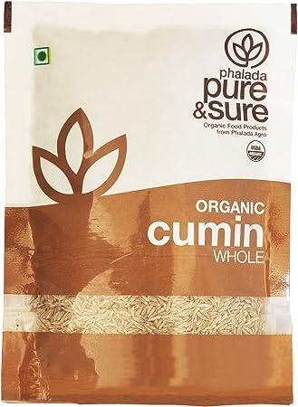 Pure & Sure Organic Whole, Cumin, 100g