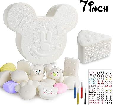 Amazon.com: MALLMALL6 - Juego de 14 piezas de esponja para ...