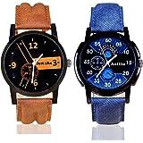 Krupa Enterprise Analogue Multi-Colour Dial Boy's Watch - 55003