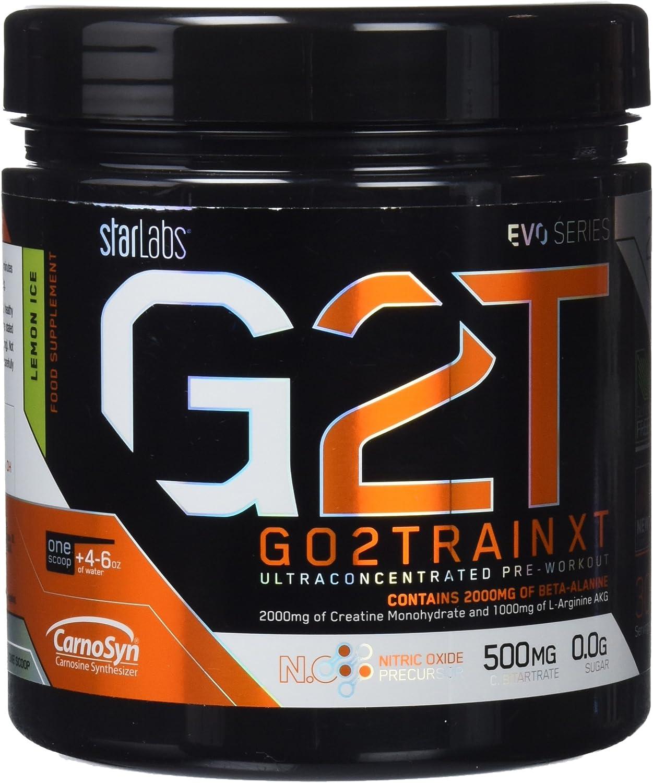 Starlabs Nutrition G2T Go2Train XT Lemon Ice - 360 gr