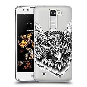 Official Bioworkz Ornate Owl Head Aves 2 Soft Gel Case for LG K8