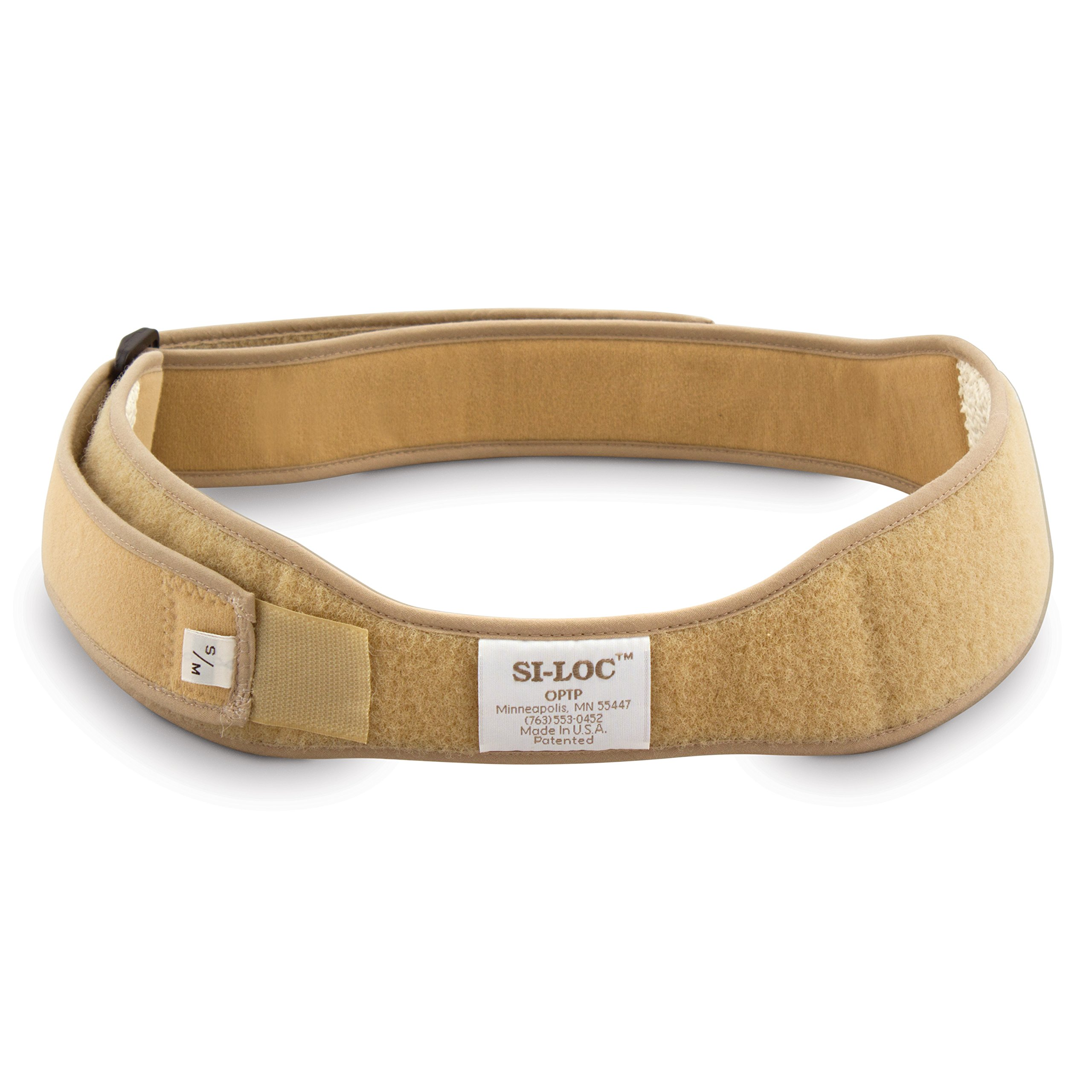 OPTP SI-LOC Sacroiliac Support Belt - Small/Medium (670) - Low Back and Pelvic Pain Relief