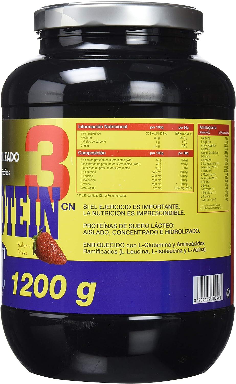 Nutrisport Whey Protein 3-1200 gr: Amazon.es: Salud y cuidado ...