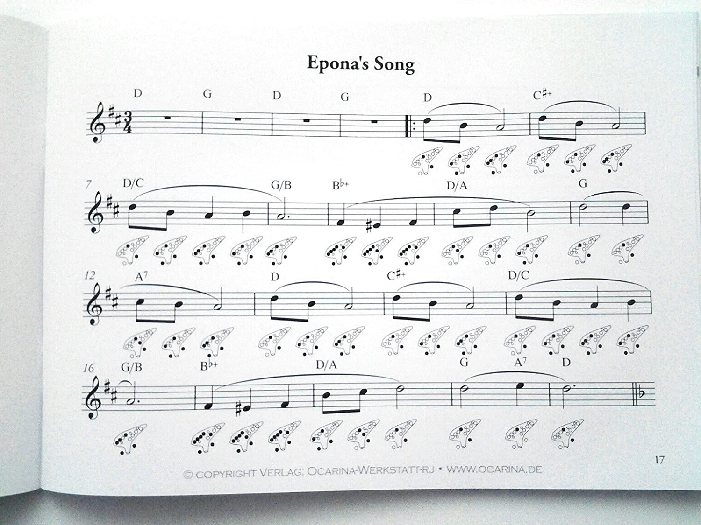 Legend Of Zelda Standard Notation Edition Songbook für 12, 7, und 6 ...