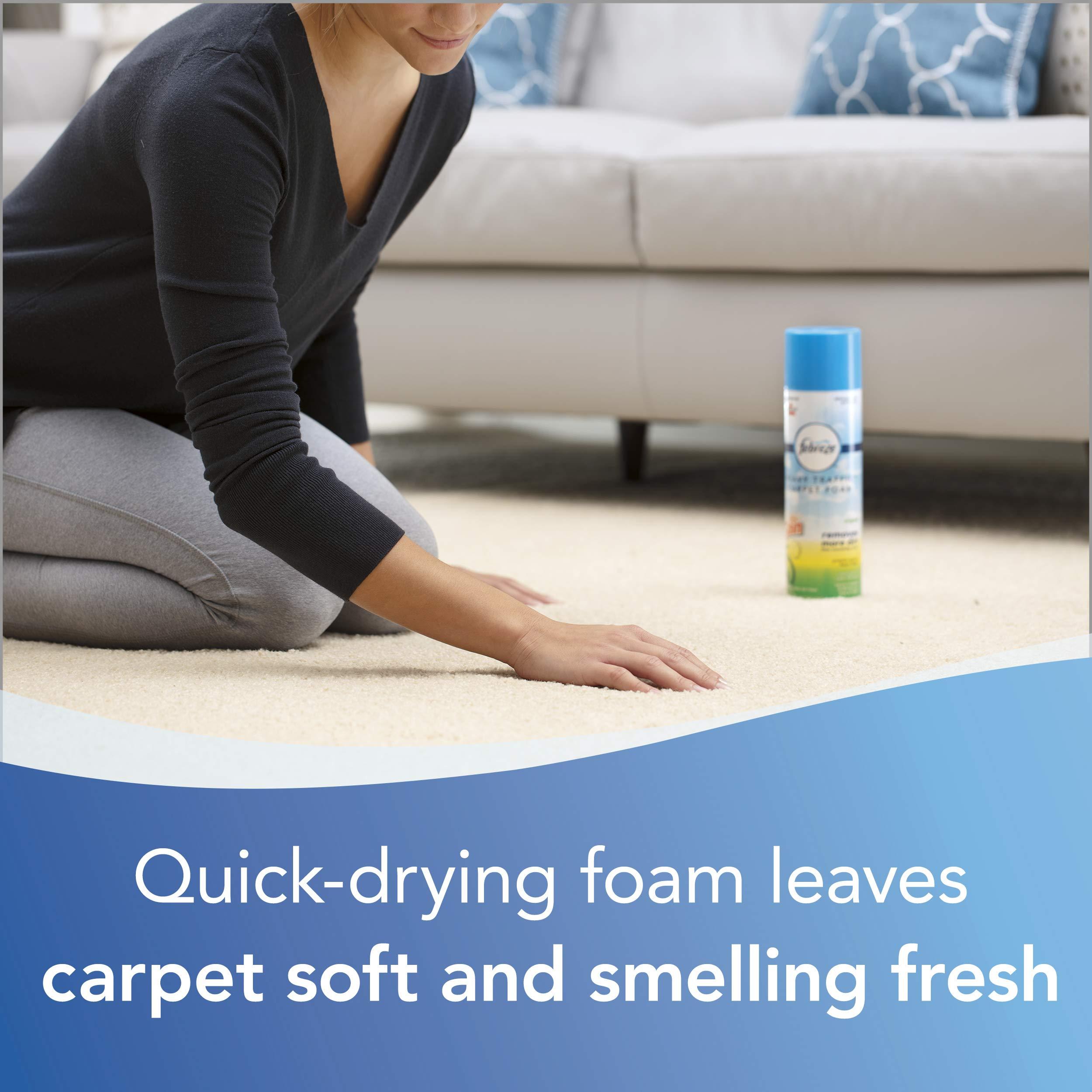Febreze Heavy Traffic Carpet Foam, Gain, 22oz (Pack of 4), 14399