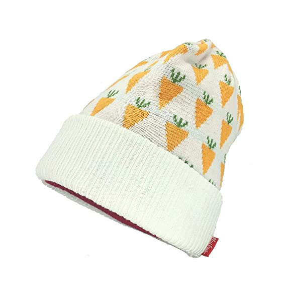 ac4b63aee6ad0 Amazon.com  Lluchus Skull Cap Winter Hat Slouchy Beanie Unisex Cool Cotton  Long Baggy Winter Hat Warm (Carrots)  Clothing