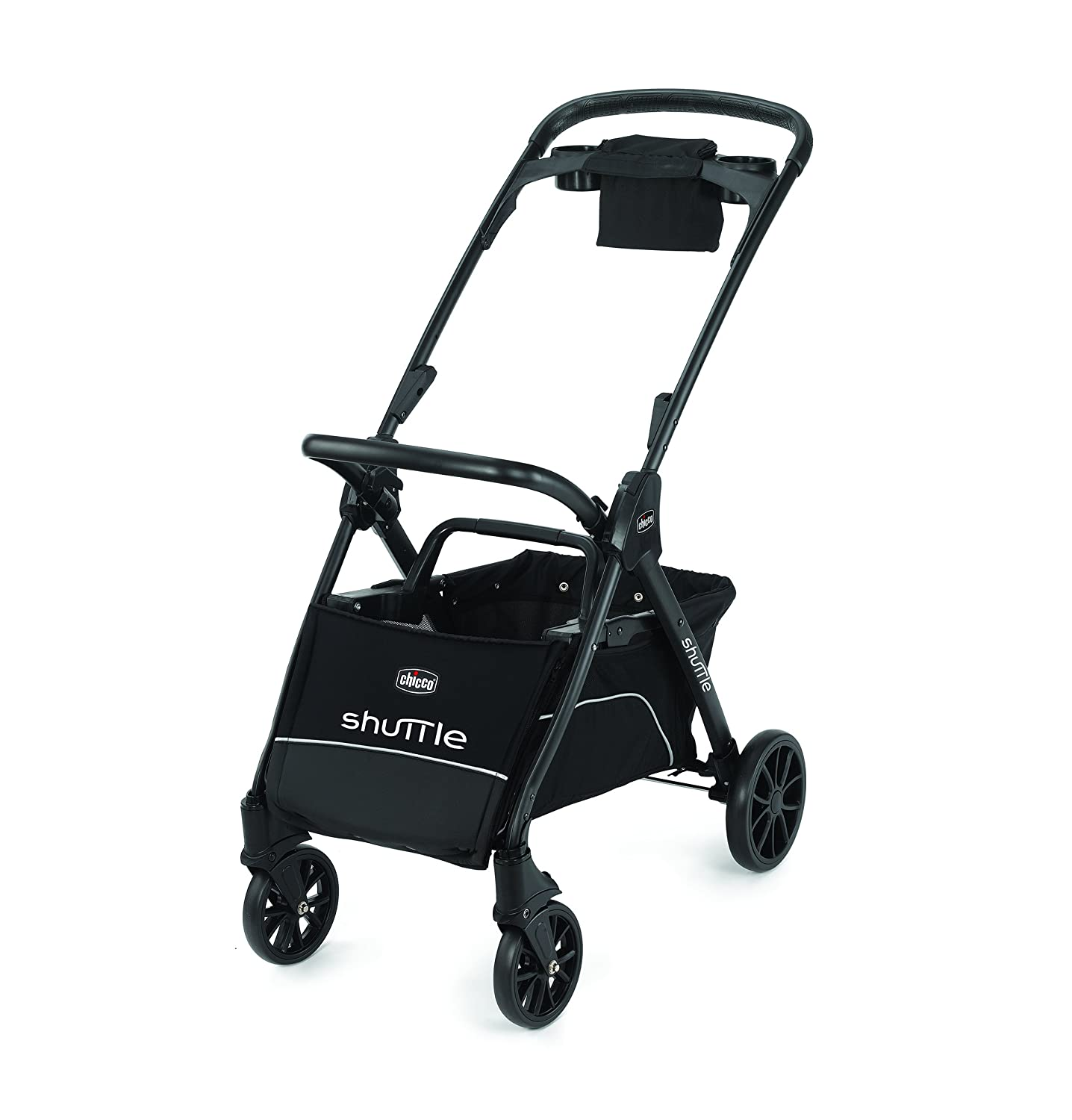 Chicco Shuttle Frame Stroller, Black 06079662950070