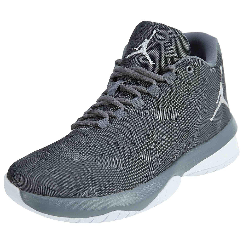 5b85c461614 Amazon.com: NIKE Jordan B.Fly Camo Men's Basketball Shoes-Cool Grey/White-10.5:  Sports & Outdoors