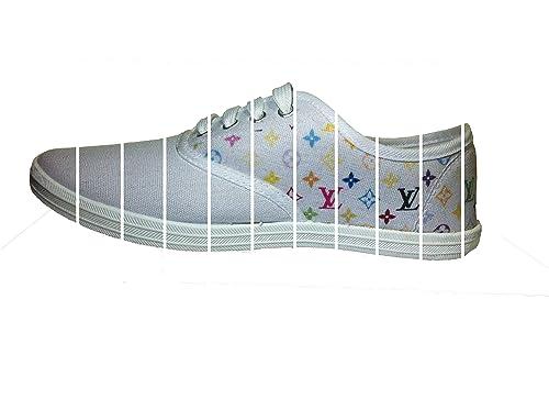 Primark - Zapatillas de Lona para Hombre Rosa Blanco, Color Rosa, Talla 39: Amazon.es: Zapatos y complementos
